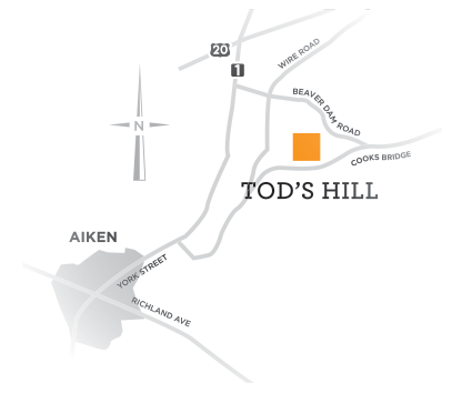 Tod's Hill near Aiken, South Carolina